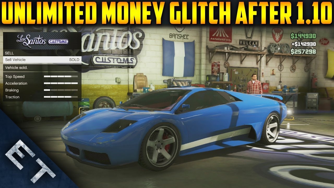 GTA V Online - New *SOLO* Unlimited Money Glitch - After Patch 1.10 ...