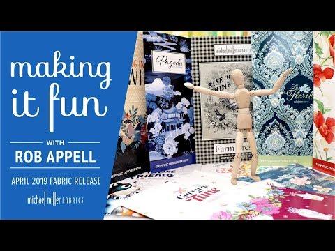 Michael Miller Fabrics April 2019 Fabric Release