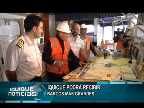 EMBARQUE DE SOYA EN PUERTO DE IQUIQUE