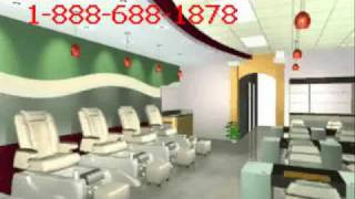 Nail Spa Salon Design