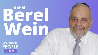 The Story of Rabbi Berel Wein | Meaningful People #36