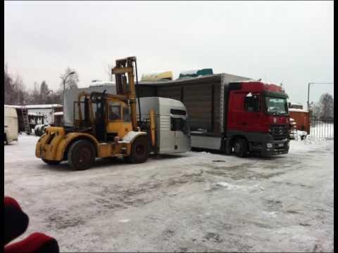 Машинокомплекты из Европы - разборка грузовиков MAN TGA и доставка в России