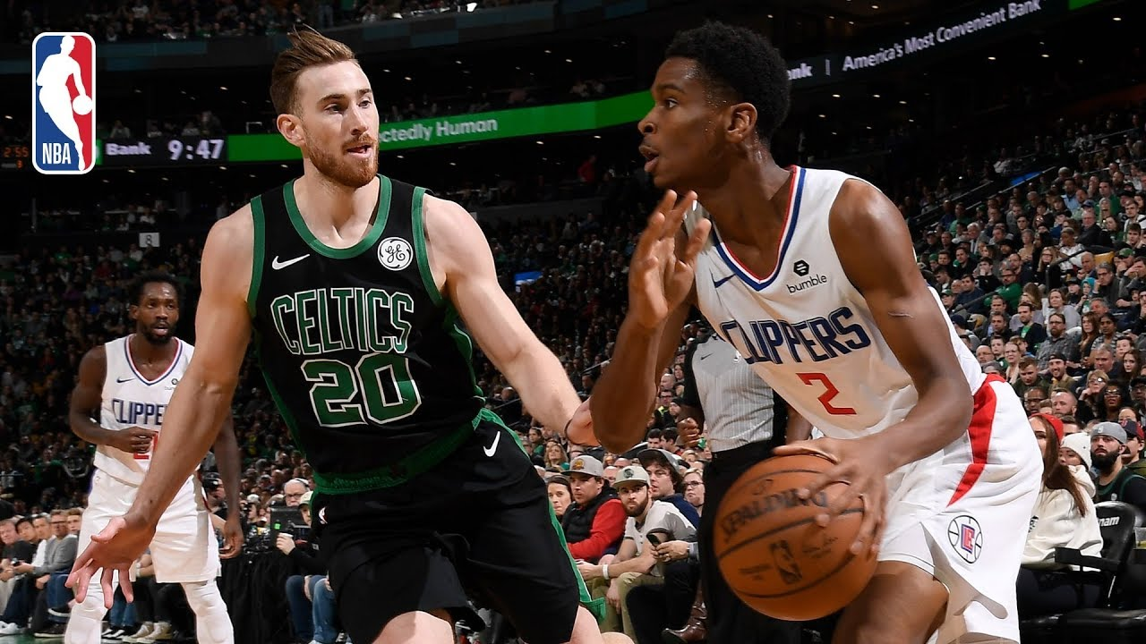 Clippers Vs Celtics Full Game Recap New Look Clippers