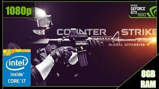 CS:GO - Teste FPS - GTX 960 - i7 3770