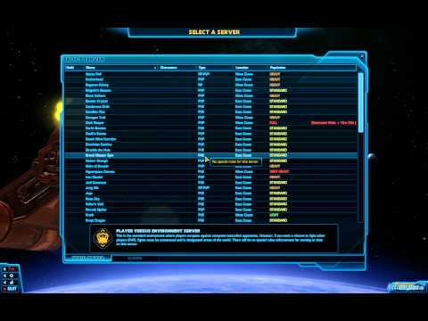 SWTOR What Server to Choose? Star Wars: The Old Republic