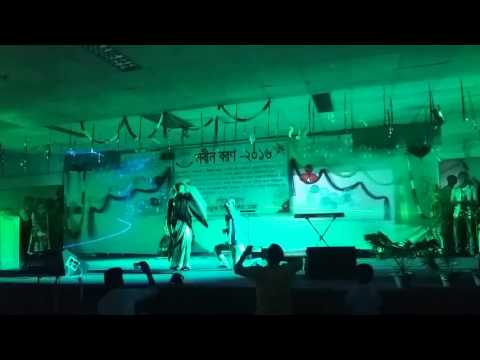 Nobin Boron-2016 回 Dept. of Mathematics,Jagannath University(JNU), performed by 10th batch