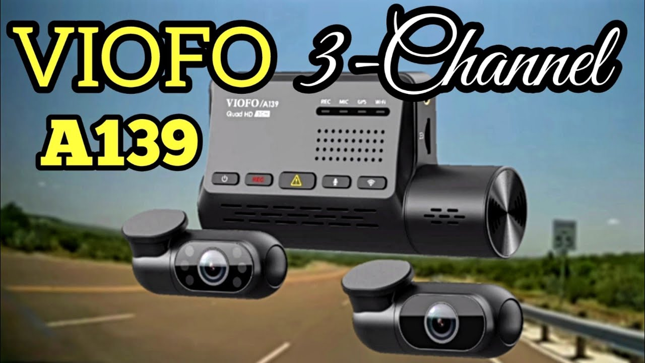 BEST Dashcam on Amazon - VIOFO A139 3CH