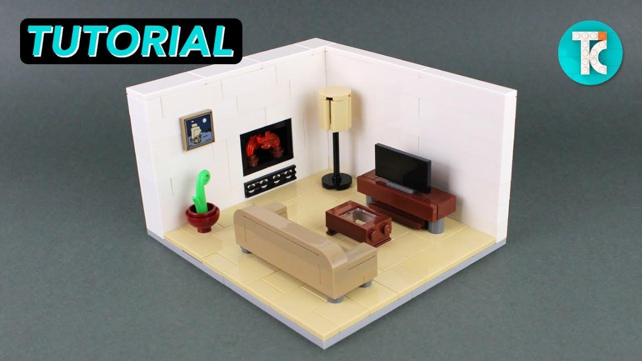LEGO Living Room (Tutorial)