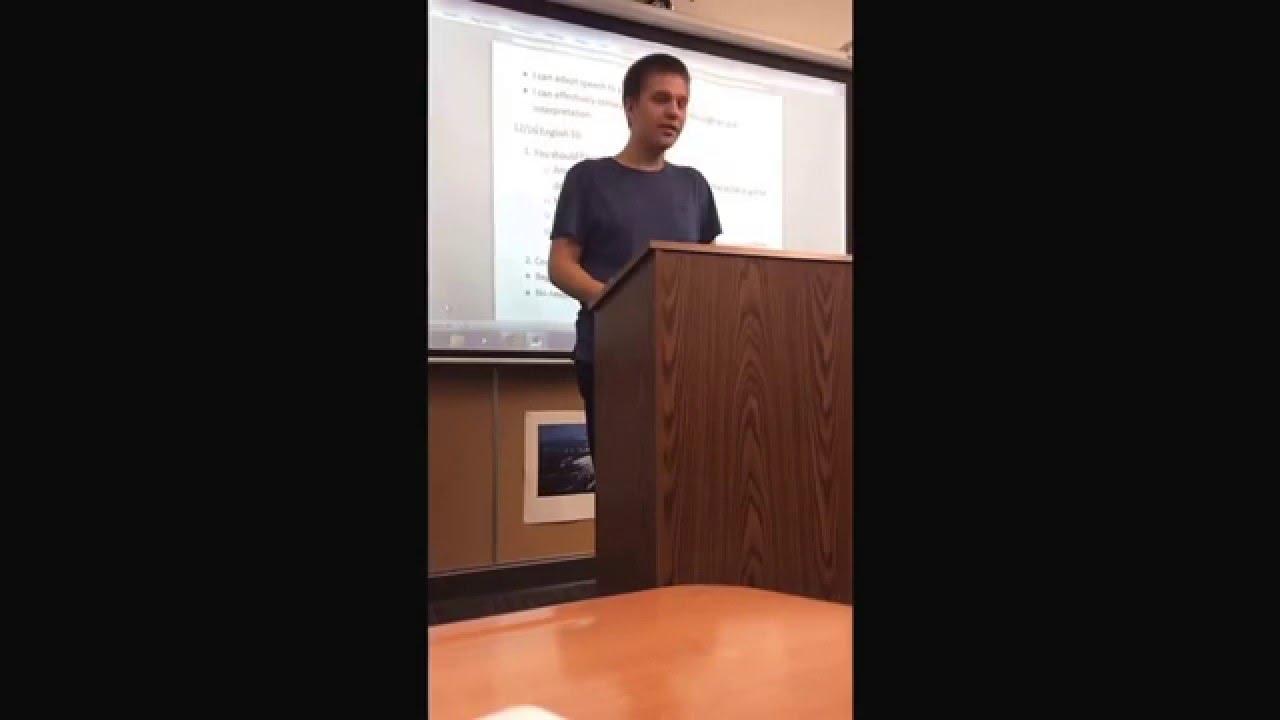 Chicken Tendies poem recited for school assignment (Nathan Fenster ...