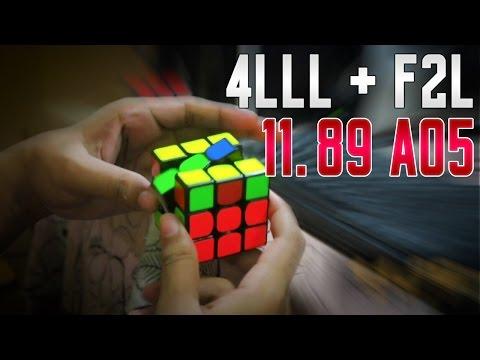 2 LOOK OLL + 2 LOOK PLL 11.89 AO5 | FULL OLL IS OVERRATED