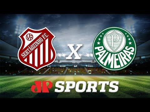 AO VIVO: Sertãozinho x Palmeiras - 12/01/20 - Copa São Paulo - Futebol JP