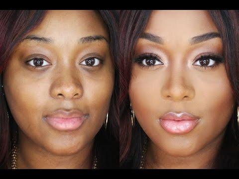 Nude Glow Full Face Makeup Tutorial