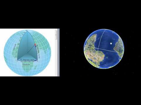 How to define geographic coordinate of a point.wmv