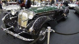 1938 Horch 853 Spezialroadster - Exterior and Interior - Hamburg Motor Classics 2018