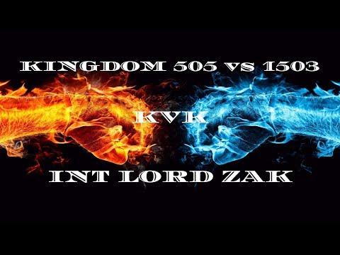 Clash of Kings: kvk 505 vs 1503! INT Alliance Lord Zak (2019)