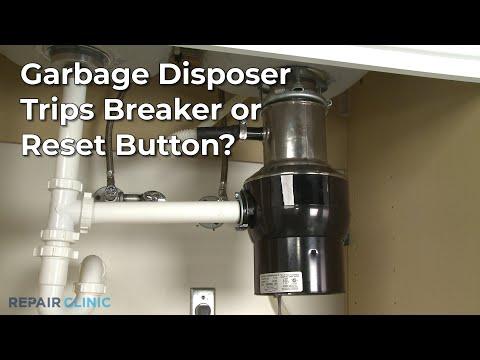"Thumbnail for video ""Garbage Disposer Trips Breaker? Garbage Disposer Troubleshooting """