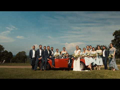 The Hickories Farm - A Grooms Perfect Poem Vows - Ridgefield, CT Farm Wedding