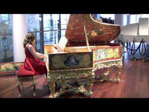 "C. Bechstein ""Louis XV"" grand piano: Dudana Mazmanishvili performs Barcarole by Chopin"