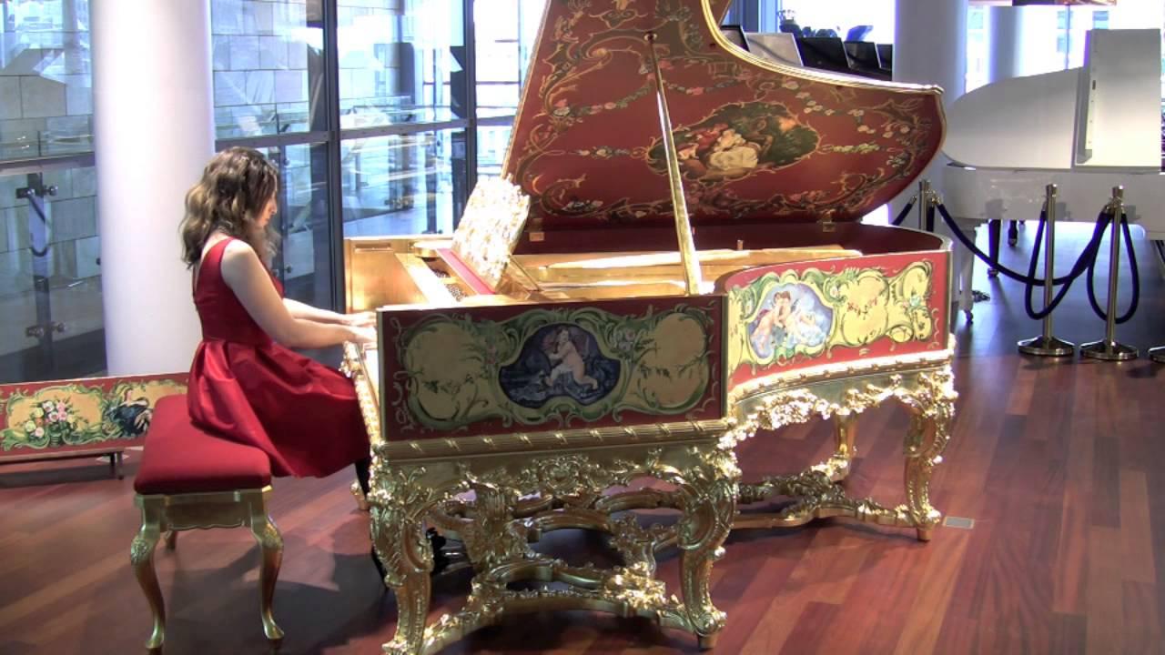 Bechstein piano key generator