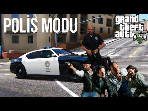 GTA V Modları - POLİS OLMA MODU