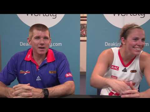 Adelaide Lightning WNBL Post Game Interview 7th December 2016
