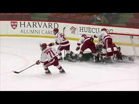 Recap: Harvard Men's Ice Hockey vs. Dartmouth - ECAC Quarterfinals Game 1