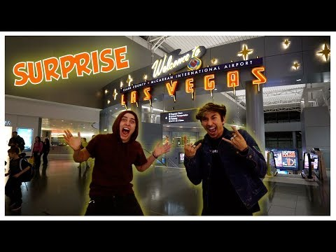 COLBY'S SURPRISE TRIP TO VEGAS!