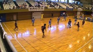 熊本国府vs真和 2011ハンドボール1年生大会