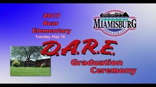 2017 Miamisburg Bear Elementary  D.A.R.E. Graduation