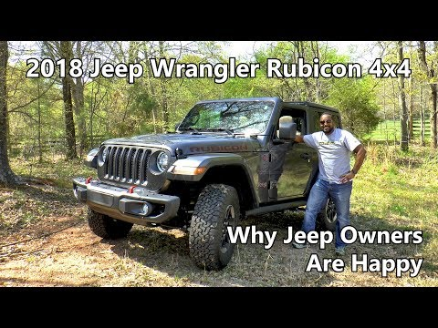 2018 Jeep Wrangler Rubicon Review - Why Jeep Owners Are Happy