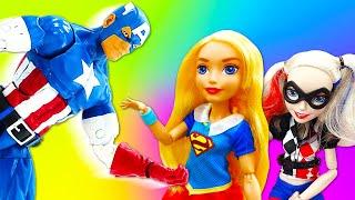 Леди Баг в школе гимнастики. Видео для девочек: куклы Барби и другие.