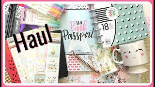 Planner Supplies Haul | Michaels, Hobby Lobby & More