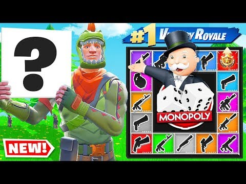 We Made MONOPOLY in FORTNITE CREATIVE