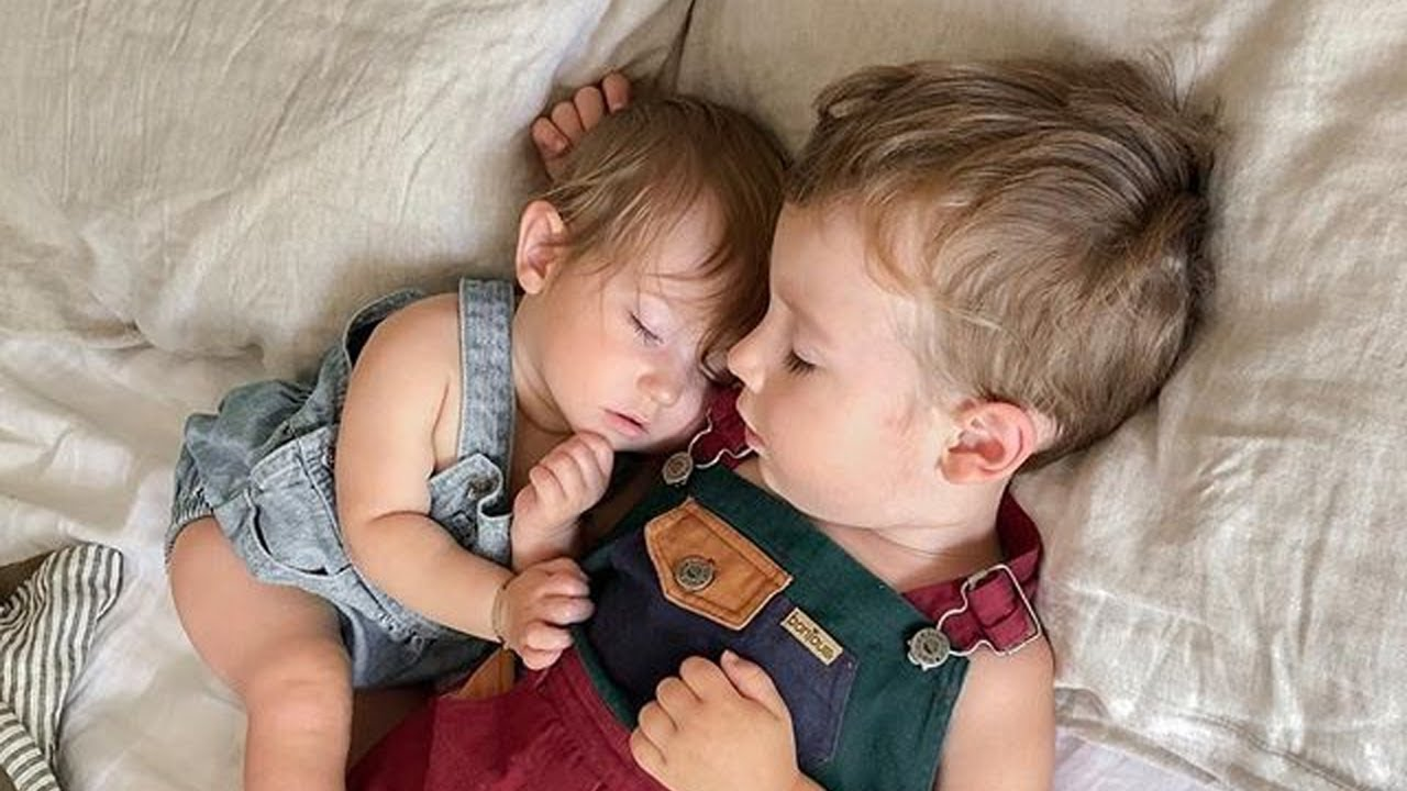 Cutest Baby Family Moments  - Funny and Cute Siblings Take Care Each Other