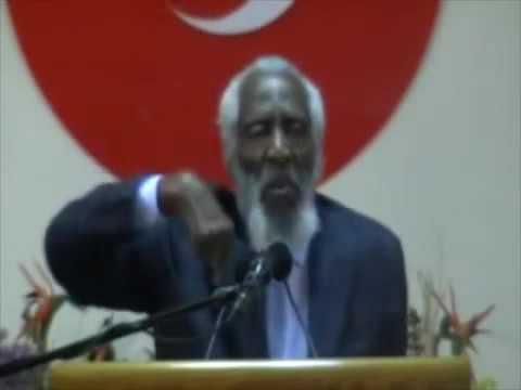 Dick Gregory speaks on police brutality