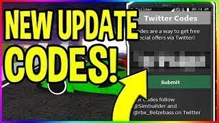 All Codes Roblox Vehicle Simulator 2019