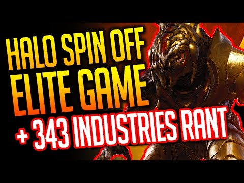 Halo Spin Off Elite Game + 343 Industries RANT!