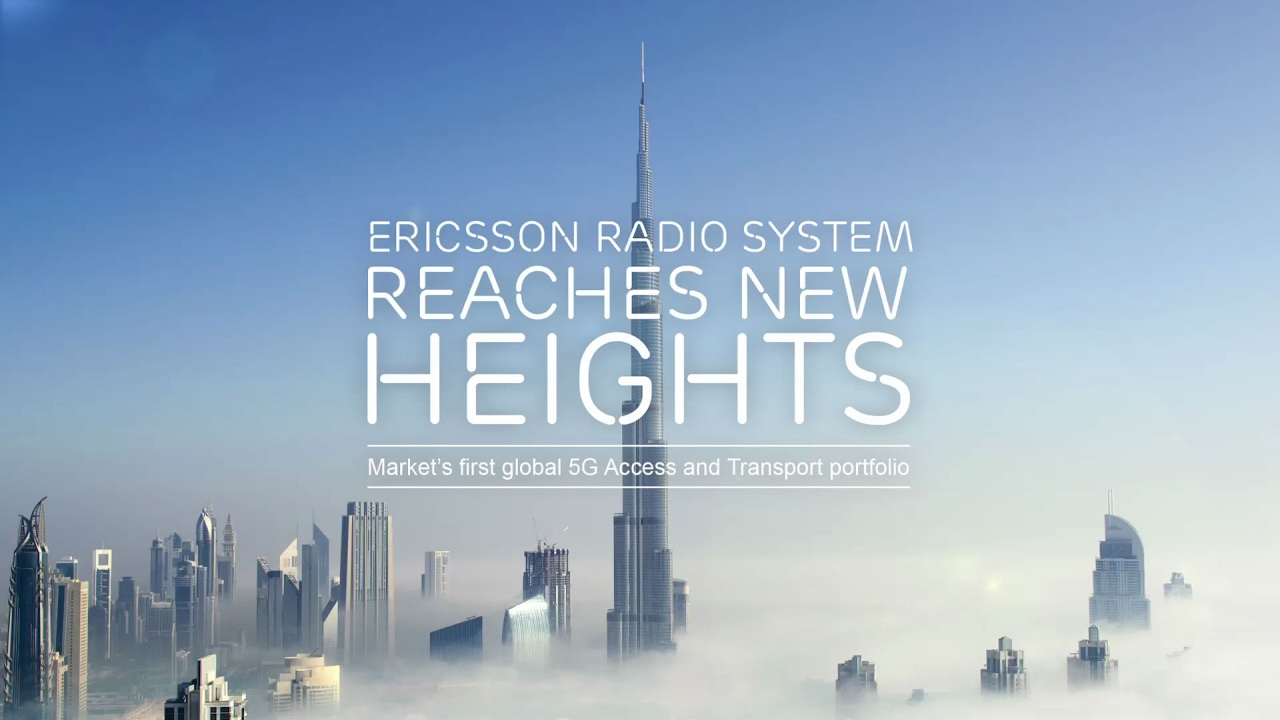 Ericsson Radio System reaches new heights