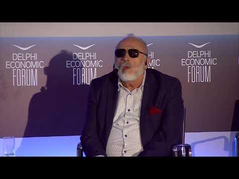 Panagiotis Kouroumplis in conversation with Yannis Perlepes | Delphi Economic Forum 2018