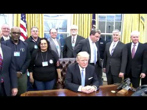 EXCLUSIVE ACCESS: President Trump INSIDE The Oval Office Of The White House