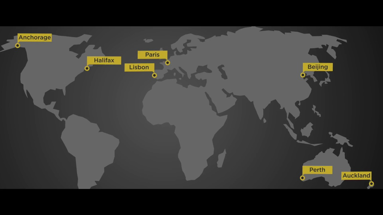 Around the World in 80 Days - Route Map - YouTube