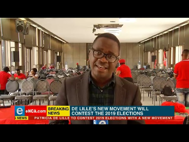 EFF leader Julius Malema addressed informal traders