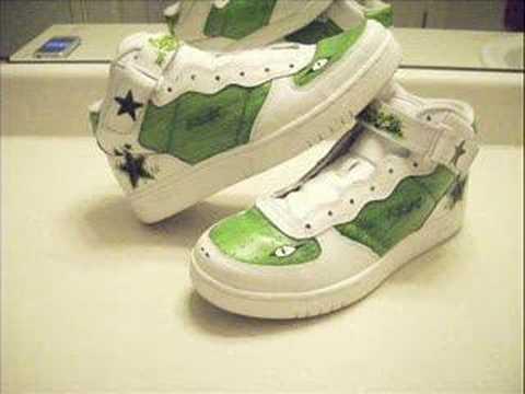 349668ce9a Custom Kicks (Rockstar Lizard) - YouTube