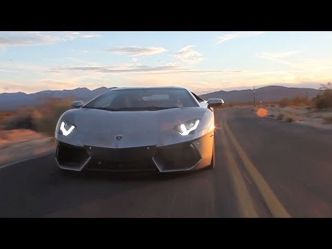 Road Tripping to SEMA in a Lamborghini Aventador - /TUNED