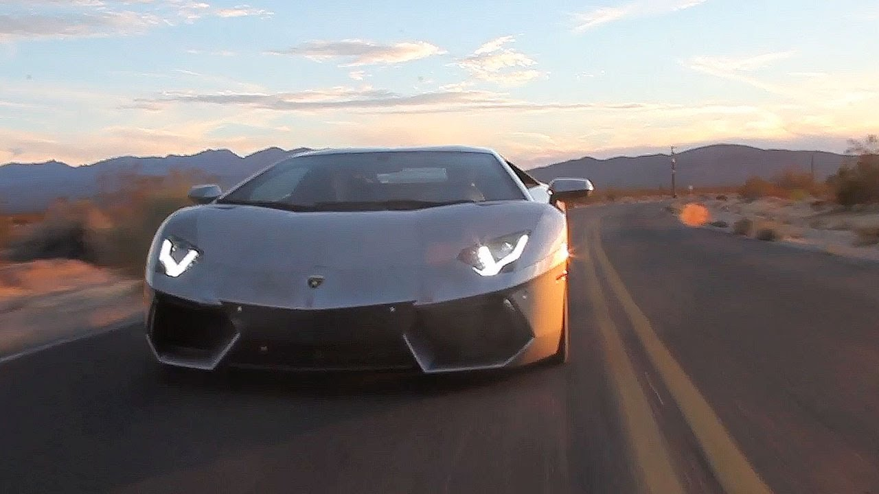 Road Tripping To Sema In A Lamborghini Aventador Tuned Youtube