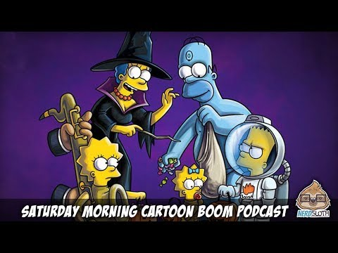 The Simpsons Treehouse of Horror - Review | Saturday Morning Cartoon Boom Podcast