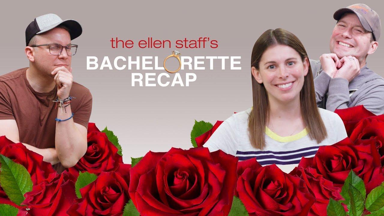 'The Ellen Staff's Bachelorette Recap': Makeouts, Kilts, & Luke Ness Monster