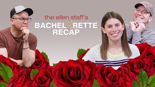 'The Ellen Staff's Bachelorette Recap': Makeouts, Kilts, & Luke Ness Monster