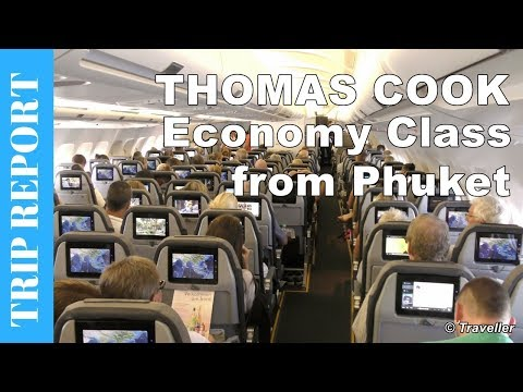 THOMAS COOK ECONOMY CLASS flight from Phuket - Airbus A330 F
