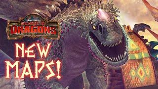 ALL NEW MAPS! Return to Dragon Island - School of Dragons
